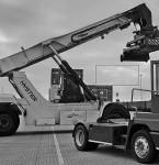 Terminal tractor zorgt voor een efficiënte afhandeling