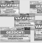 Stellenausschreibung Logistik-Mitarbeiter